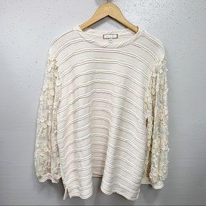 Anthro Eri + Ali Chelsea Sweater Pullover XL
